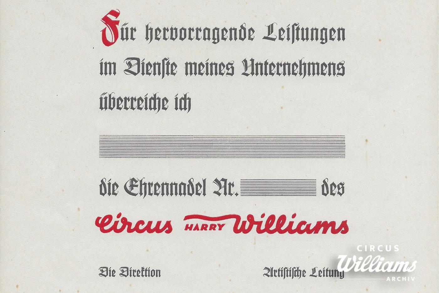 Ehrennadeln & Urkunden